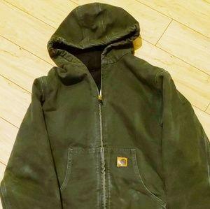 Carhartt hoodie jacket xl womens